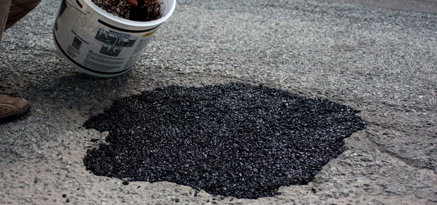 Reparatieasfalt voor asfaltreparatie