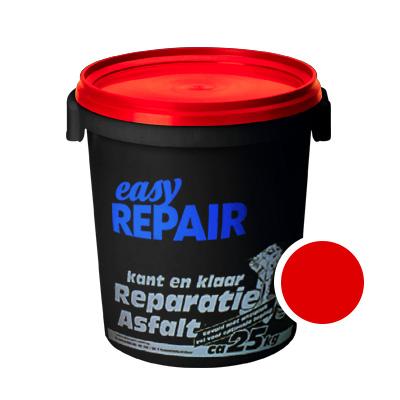 Reparatieasfalt EasyRepair 0/3 rood asfalt